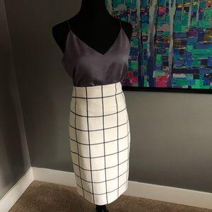 Stunning Cream Pencil Skirt